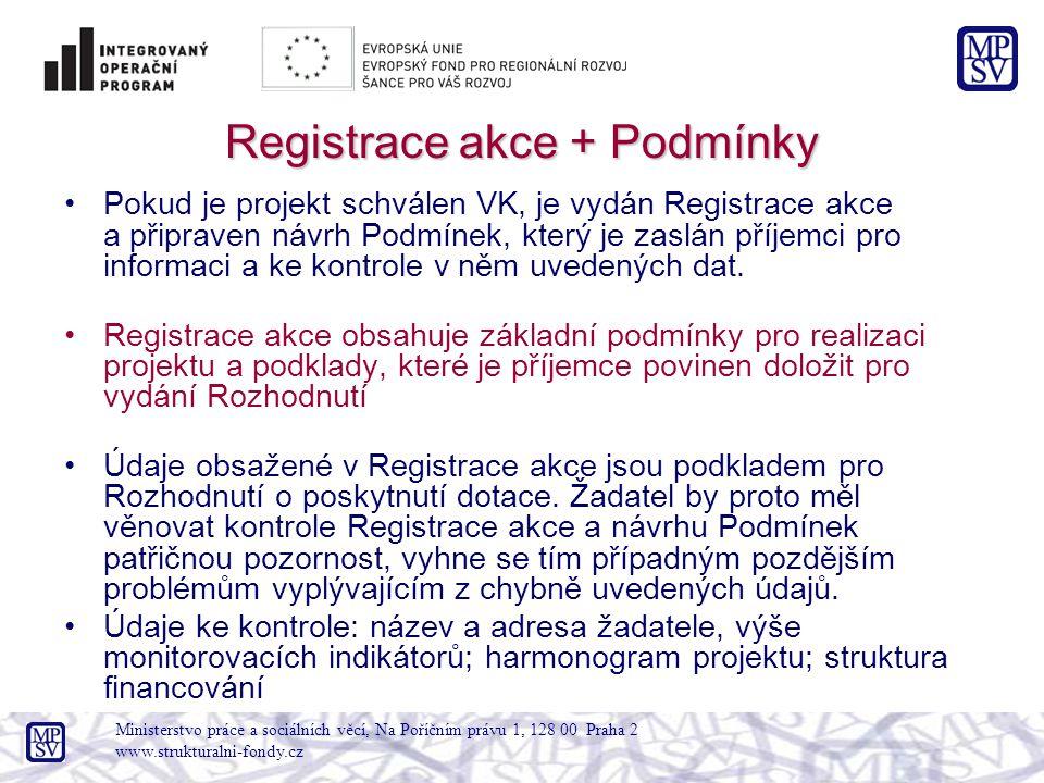 Povinné přílohy předkládané nejpozději před vydáním RoD Dokumenty požadované pro posouzení zadání zakázky.