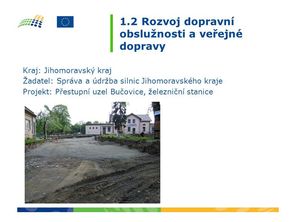 2.2 Rozvoj služeb v cestovním ruchu Termín zahájení – ukončení projektu: 1.