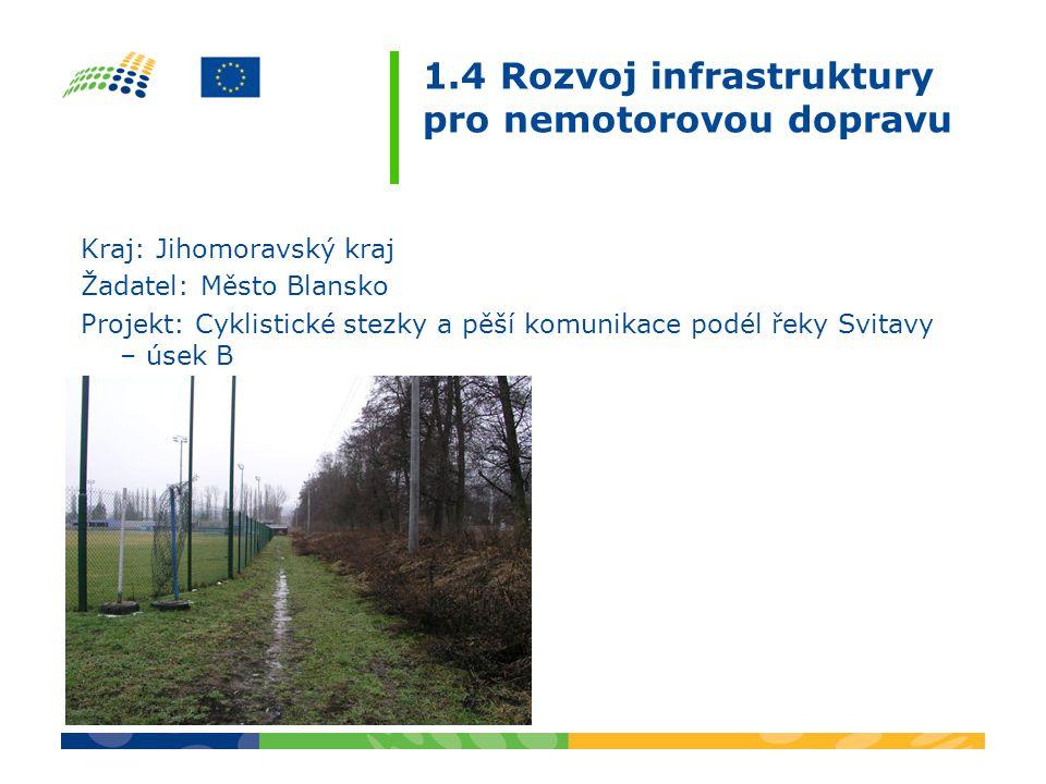 3.4 Veřejné služby regionálního významu Termín zahájení – ukončení projektu: 1.