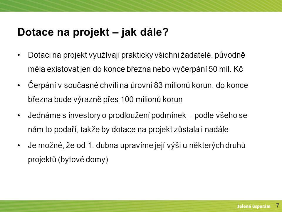 7 Dotace na projekt – jak dále.