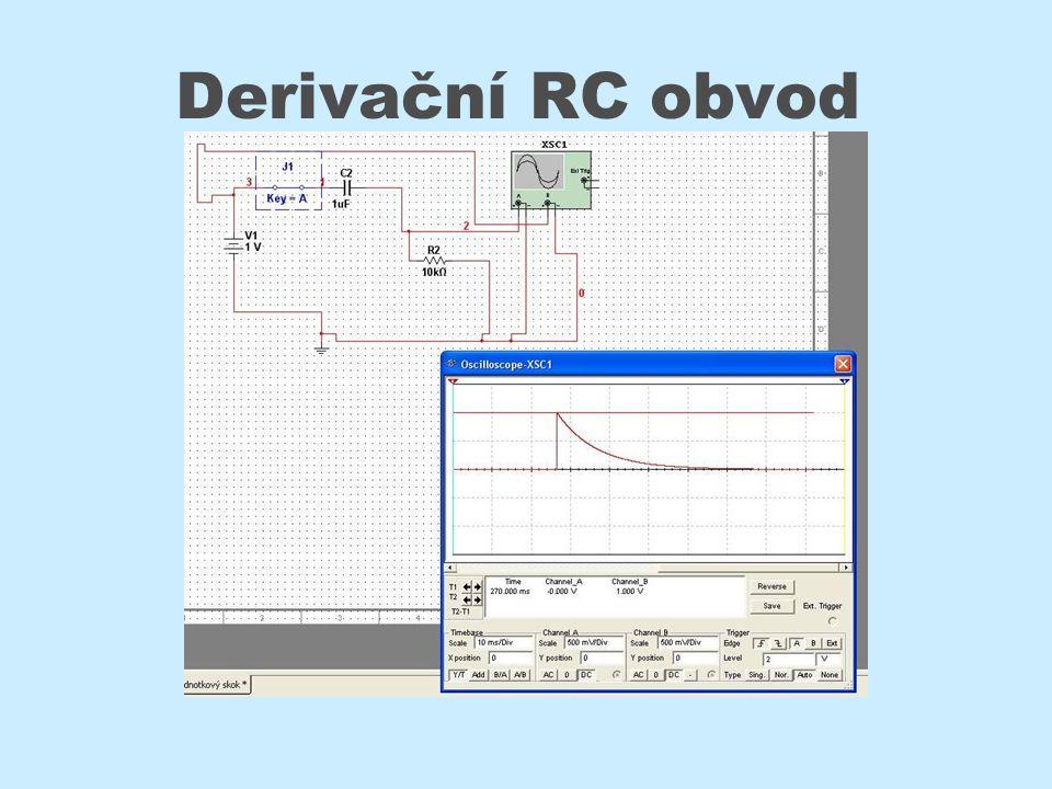 Derivační RC obvod