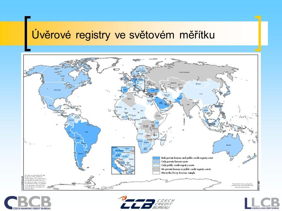 Úvěrové registry ve světovém měřítku