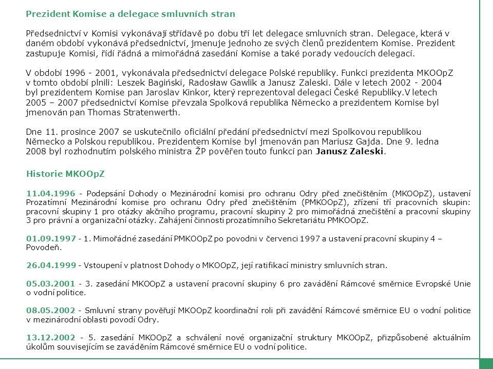 Organizační schéma MKOOpZ platné od 1.7.2005 Členové G1