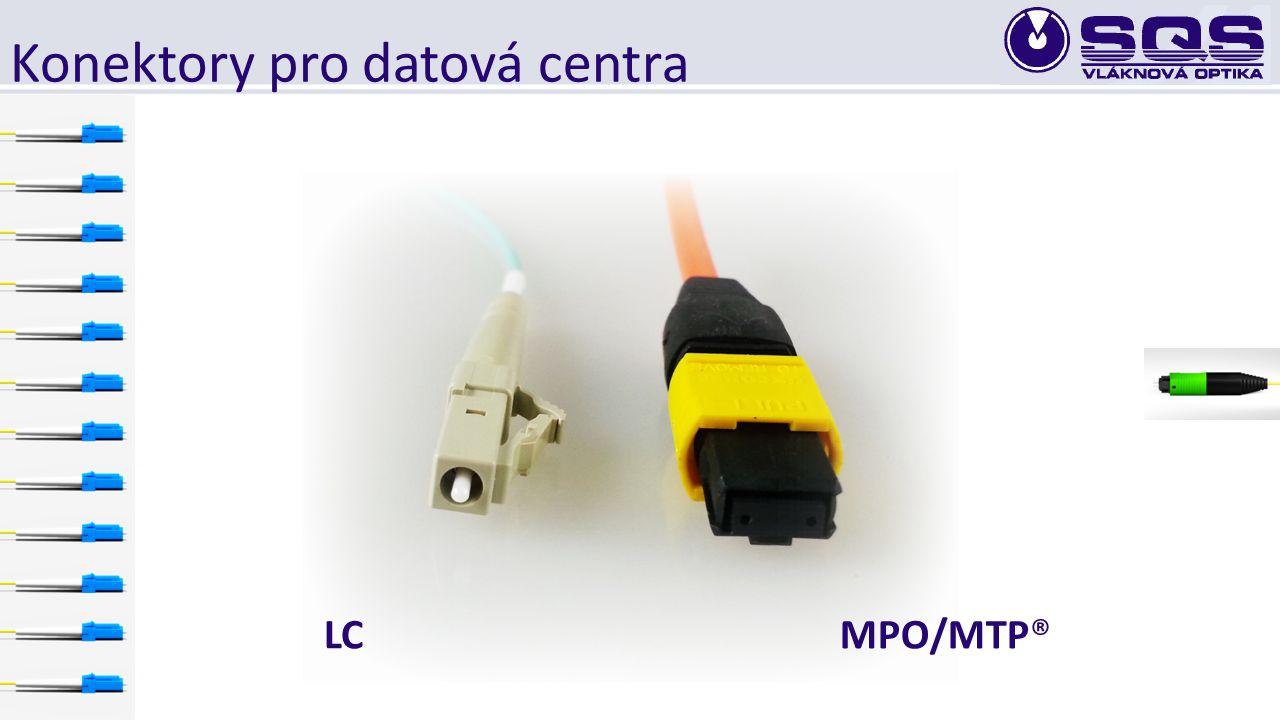 Konektory pro datová centra MPO/MTP®LC
