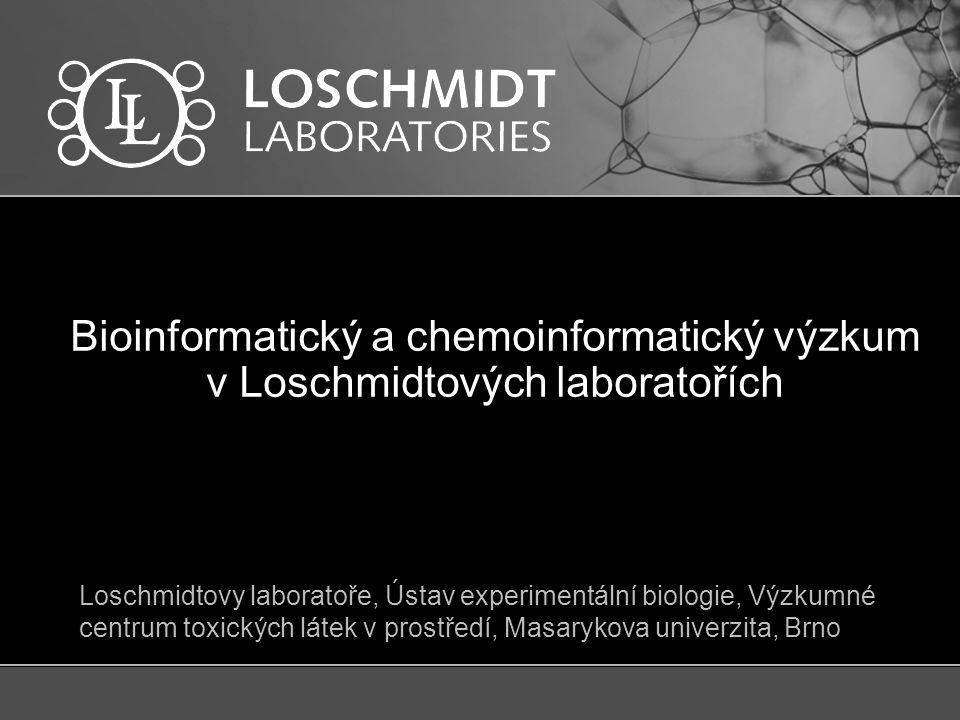 Loschmidtovy laboratoře  20 let existence  4 softwarové nástroje  3 patenty  30 lidí  3 týmy