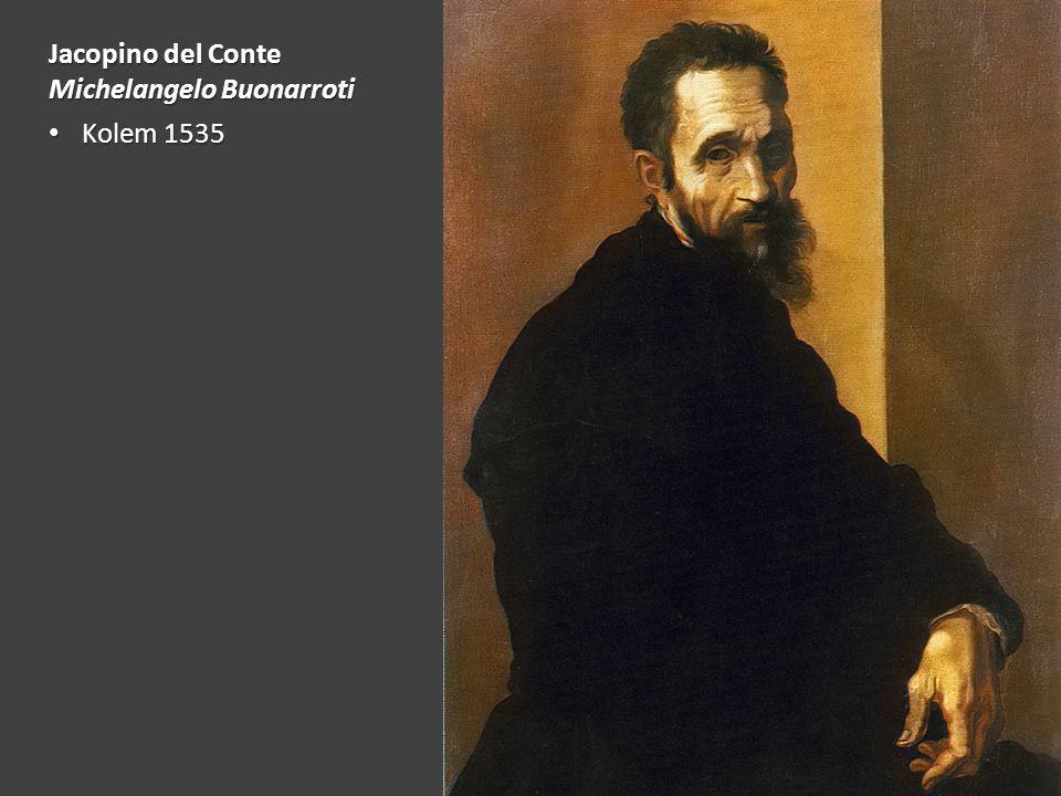 Jacopino del Conte Michelangelo Buonarroti Kolem 1535 Kolem 1535