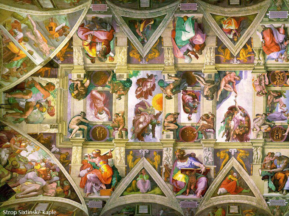 Strop Sixtinské kaple