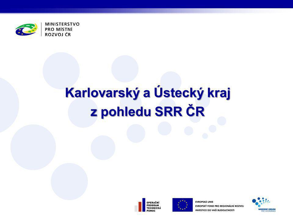Karlovarský a Ústecký kraj z pohledu SRR ČR