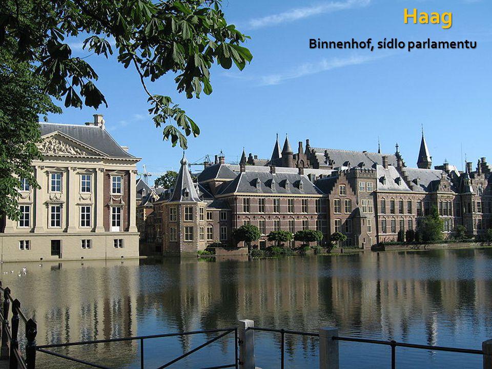 Haag Binnenhof, sídlo parlamentu