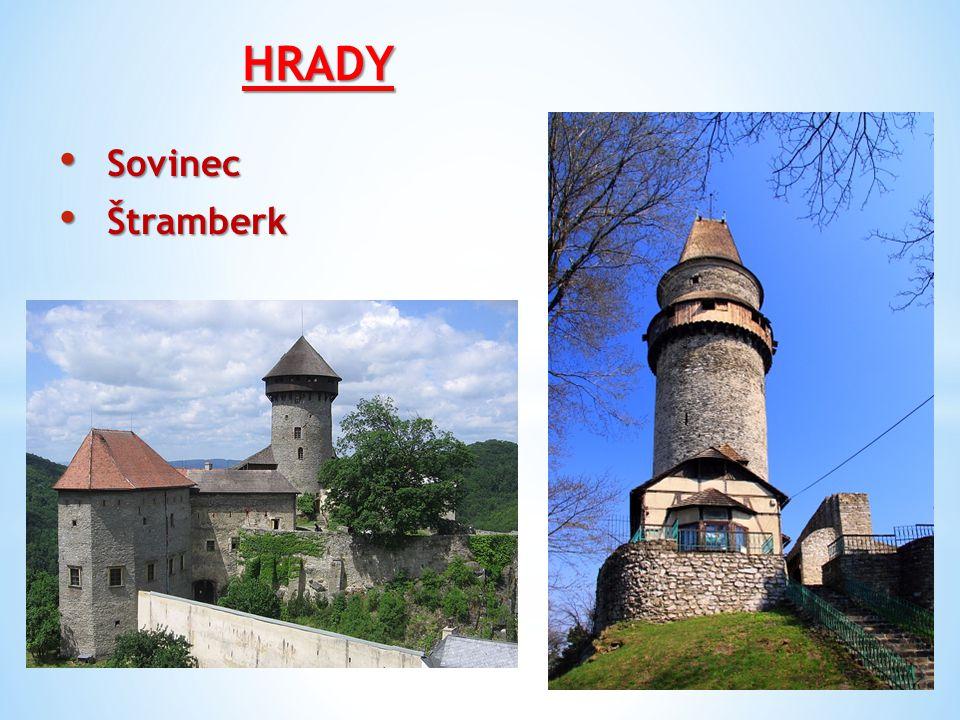 HRADY Sovinec Sovinec Štramberk Štramberk