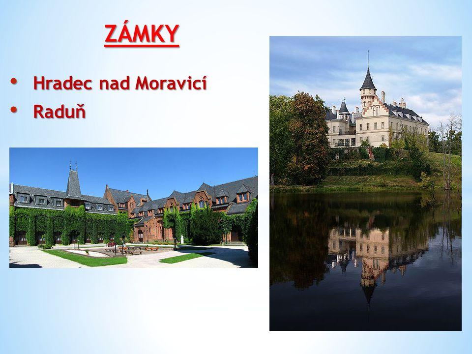 ZÁMKY Hradec nad Moravicí Hradec nad Moravicí Raduň Raduň