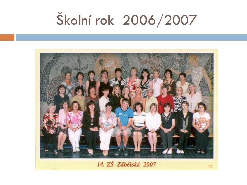 Školní rok 2006/2007