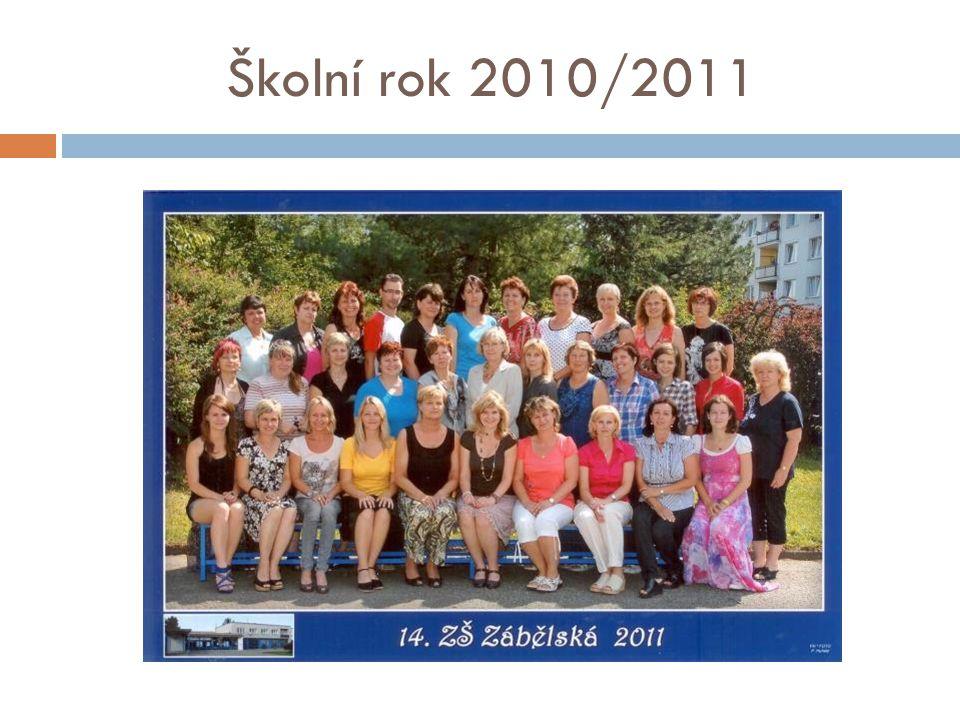 Školní rok 2010/2011