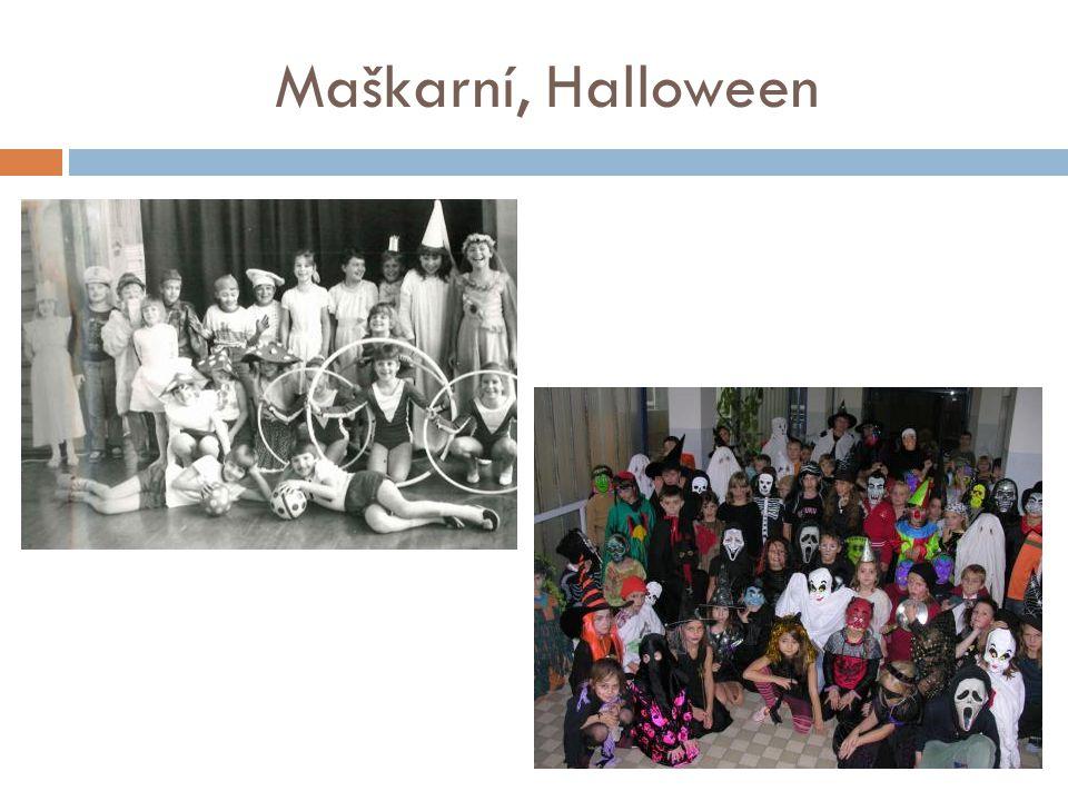 Maškarní, Halloween