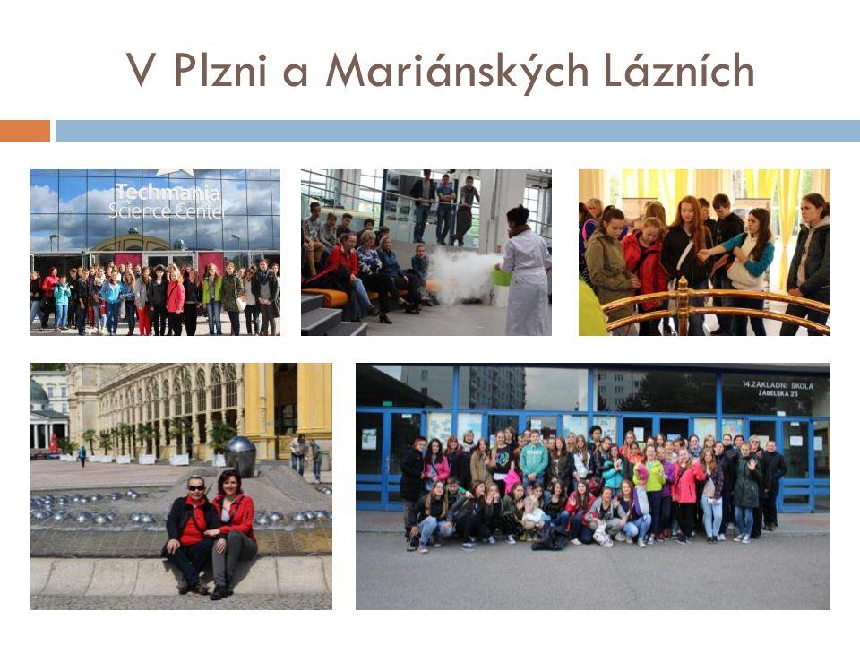 V Plzni a Mariánských Lázních