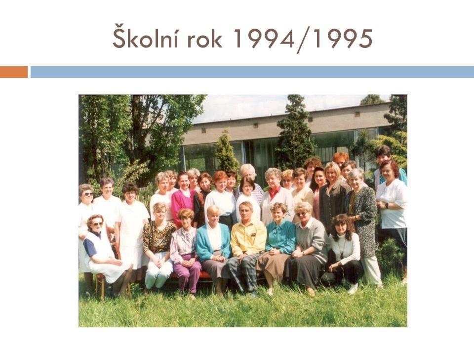 Školní rok 1996/1997