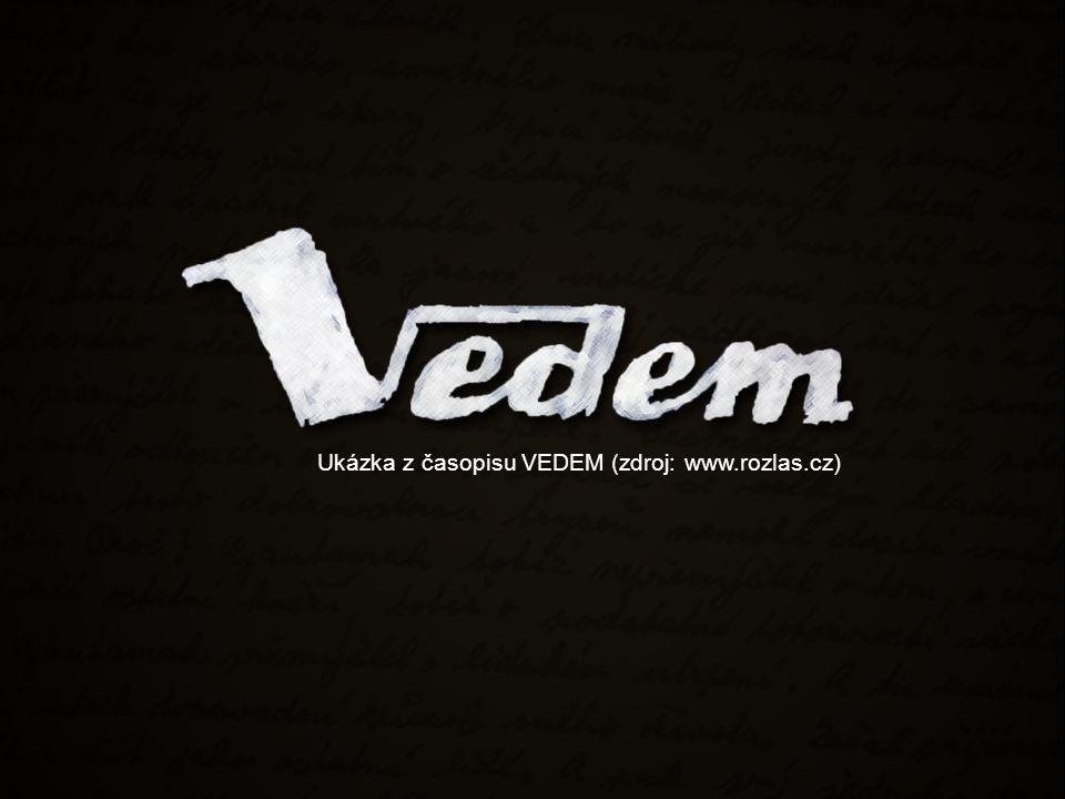 Ukázka z časopisu VEDEM (zdroj: www.rozlas.cz)