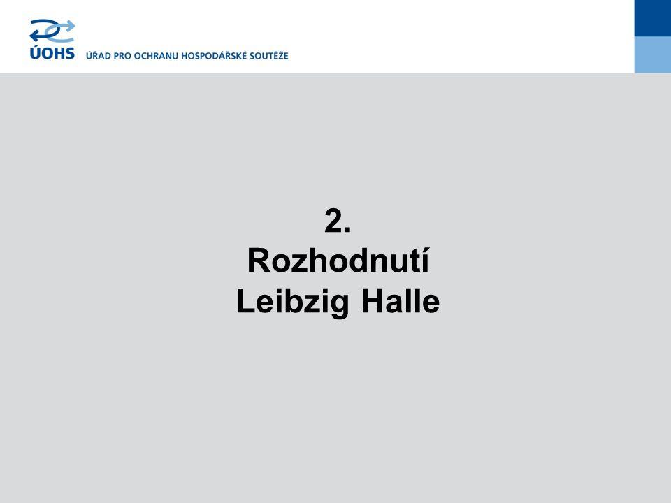 2. Rozhodnutí Leibzig Halle