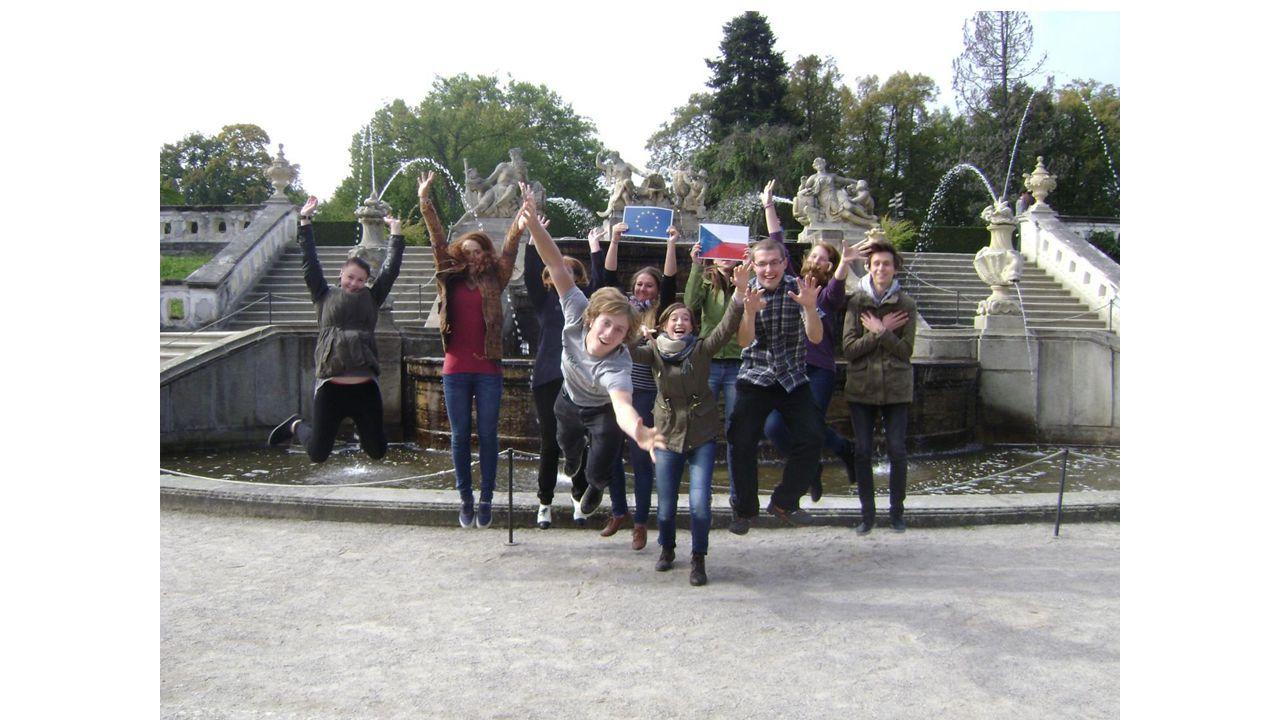 Třetí den zájezdu Poslední den jsme jeli na návštěvu cisterciáckého kláštera ve Vyšším Brodě.