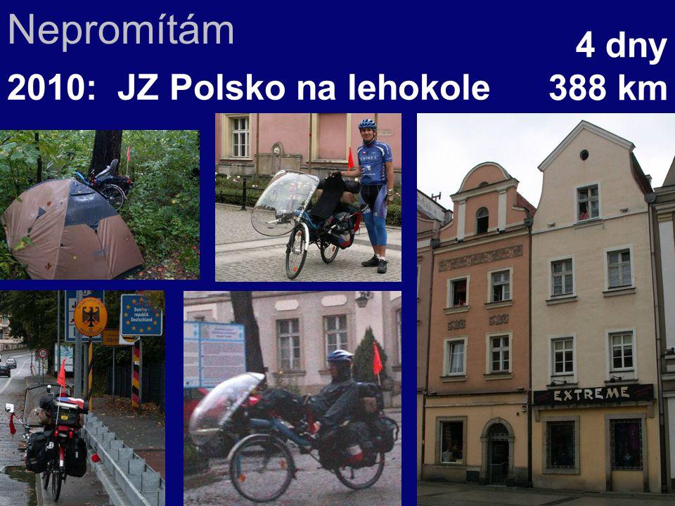 Nepromítám 4 dny 388 km 2010: JZ Polsko na lehokole