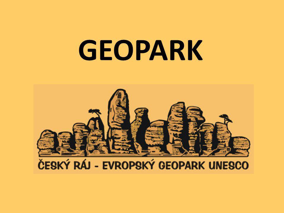 CO JE GEOPARK? významná oblast: - geologická - mineralogická - archeologická - historická