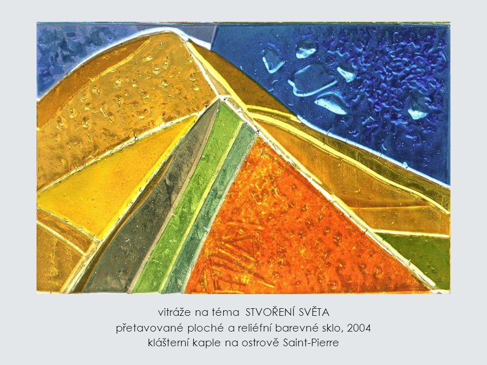 KUBUS přetavované sklo, 2003