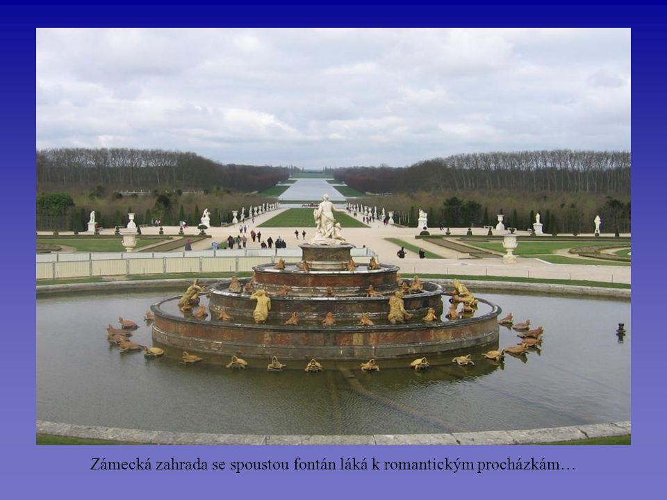 Versailles – lovecký zámeček v dnešní podobě