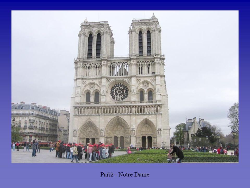 Paříž - Notre Dame