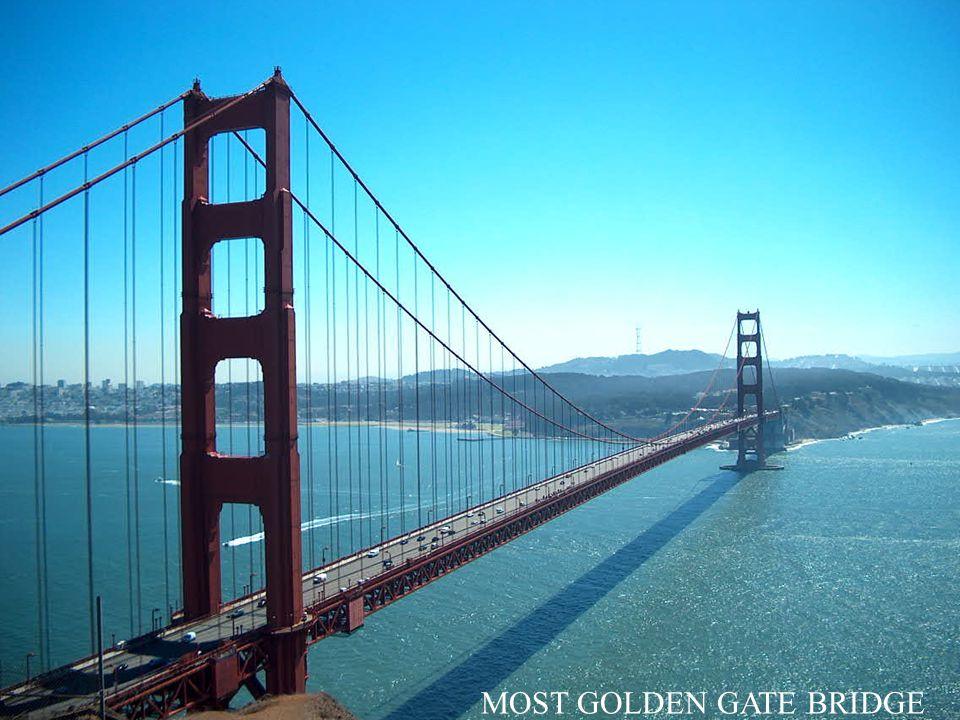 MOST GOLDEN GATE BRIDGE
