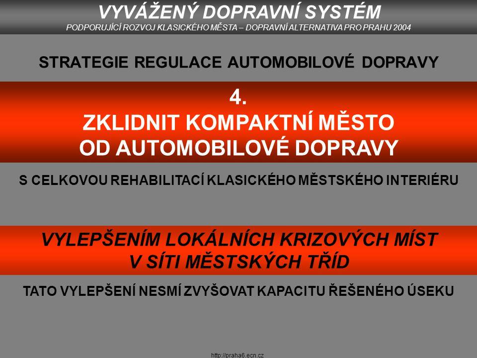 http://praha6.ecn.cz LETNÁ (2004) Foto: autor 2004 VYVÁŽENÝ DOPRAVNÍ SYSTÉM PODPORUJÍCÍ ROZVOJ KLASICKÉHO MĚSTA – DOPRAVNÍ ALTERNATIVA PRO PRAHU 2004