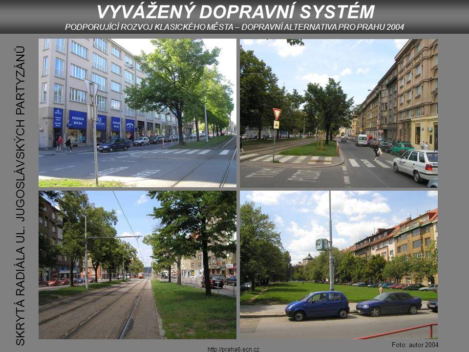 http://praha6.ecn.cz STRATEGIE REGULACE AUTOMOBILOVÉ DOPRAVY 5.
