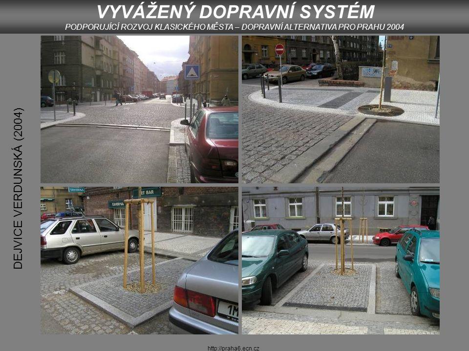 http://praha6.ecn.cz LETENSKÉ SADY VYVÁŽENÝ DOPRAVNÍ SYSTÉM PODPORUJÍCÍ ROZVOJ KLASICKÉHO MĚSTA – DOPRAVNÍ ALTERNATIVA PRO PRAHU 2004 Foto: Š.