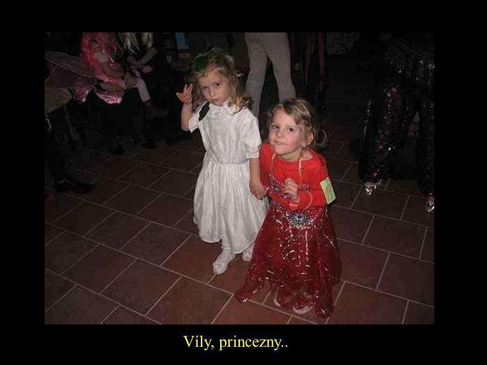 Víly, princezny..