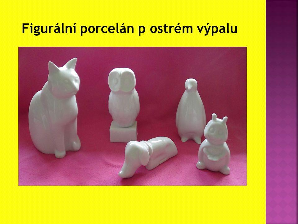Figurální porcelán p ostrém výpalu