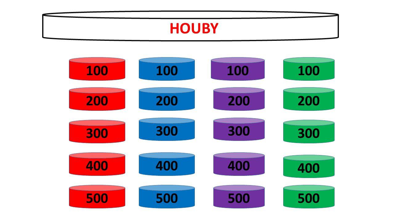 100 200 300 400 500 100 200 300 400 500 100 200 300 400 500 100 200 300 400 500 HOUBY