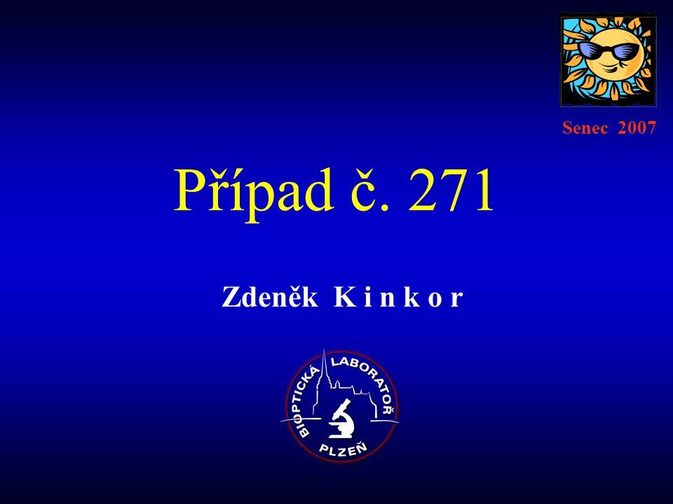 Případ č. 271 Zdeněk K i n k o r Senec 2007