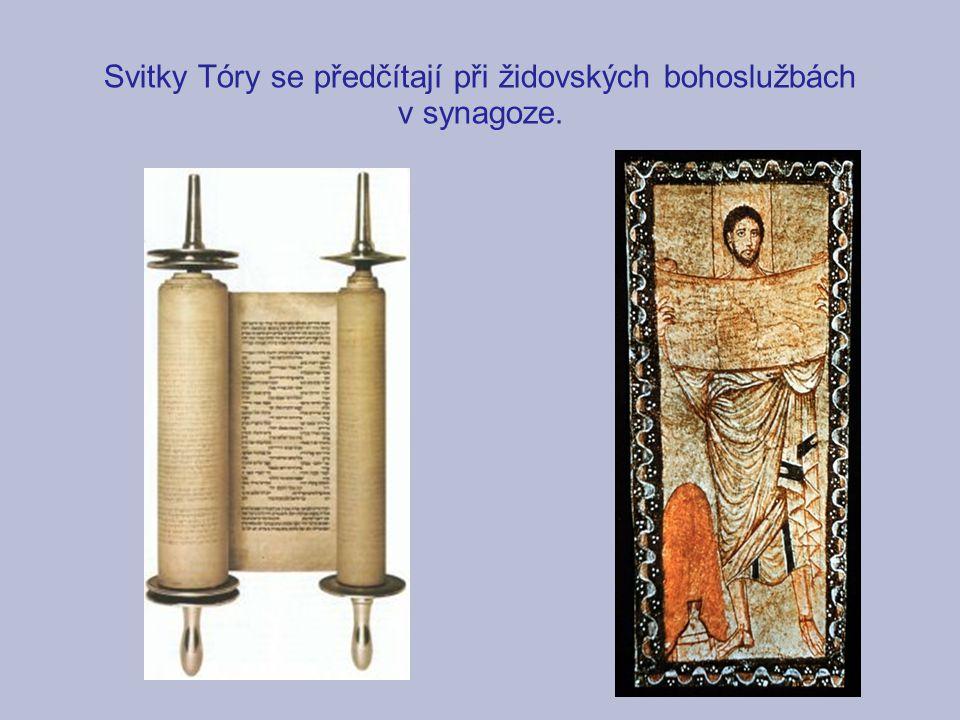Pět knih Mojžíšových (Pentateuch) Jádrem Starého zákona je židovská Tóra neboli Pět knih Mojžíšových (Pentateuch).