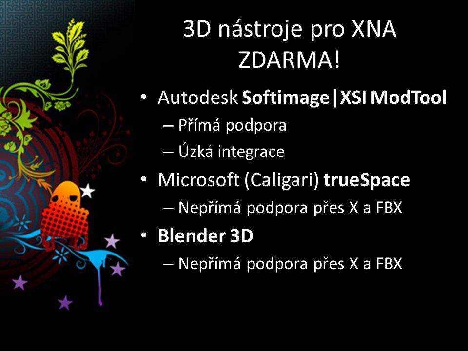3D nástroje pro XNA ZDARMA.