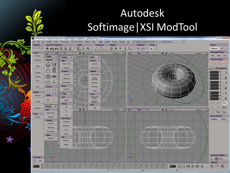 Autodesk Softimage|XSI ModTool