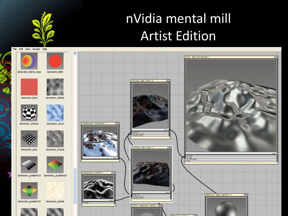 nVidia mental mill Artist Edition