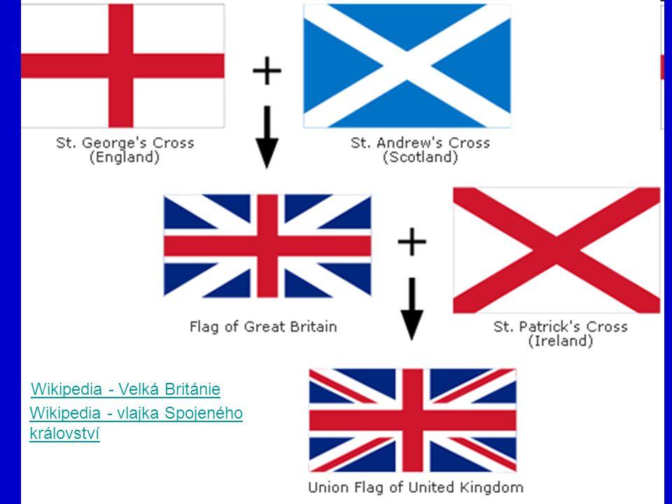 Wikipedia - Velká Británie Wikipedia - vlajka Spojeného království