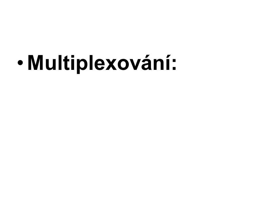 Multiplexování: