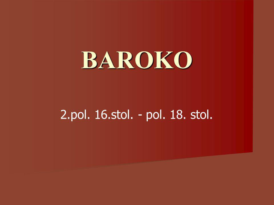 BAROKO 2.pol. 16.stol. - pol. 18. stol.