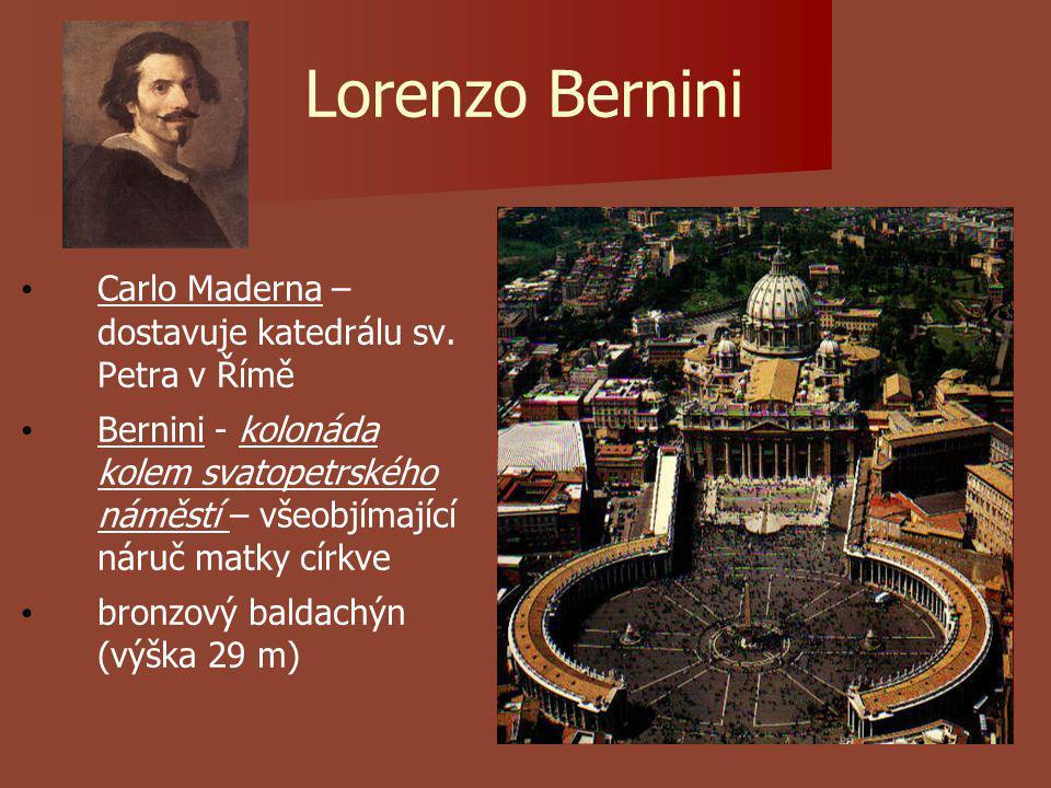 Lorenzo Bernini Carlo Maderna – dostavuje katedrálu sv.