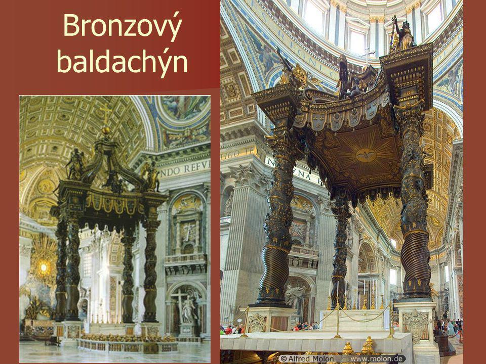 Bronzový baldachýn
