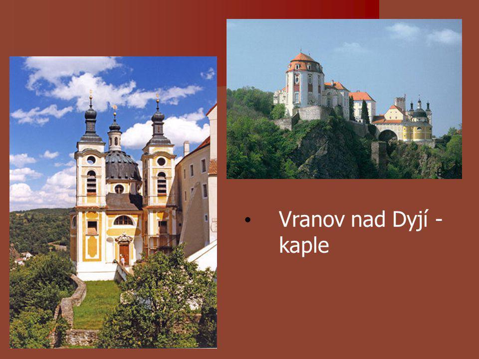 Vranov nad Dyjí - kaple
