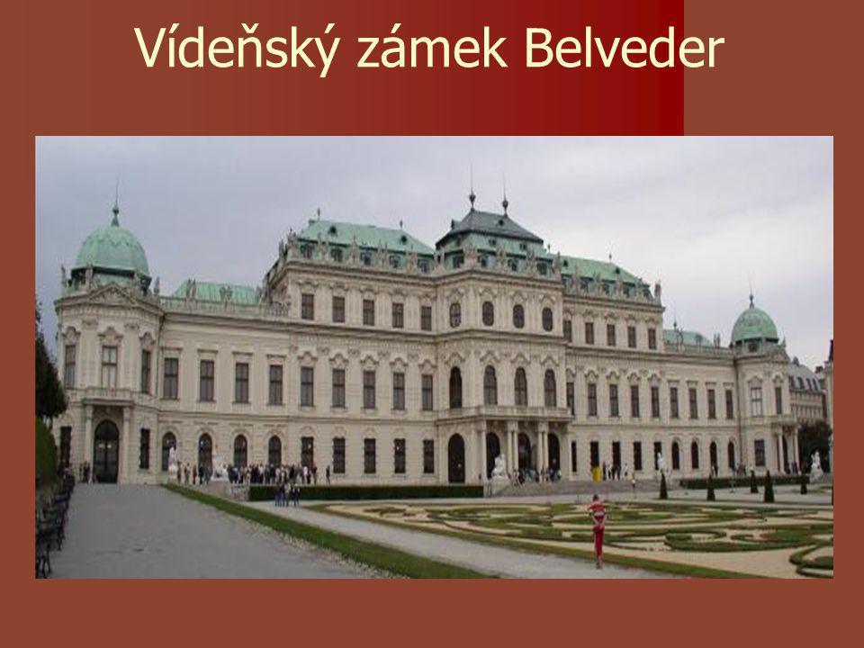 Vídeňský zámek Belveder