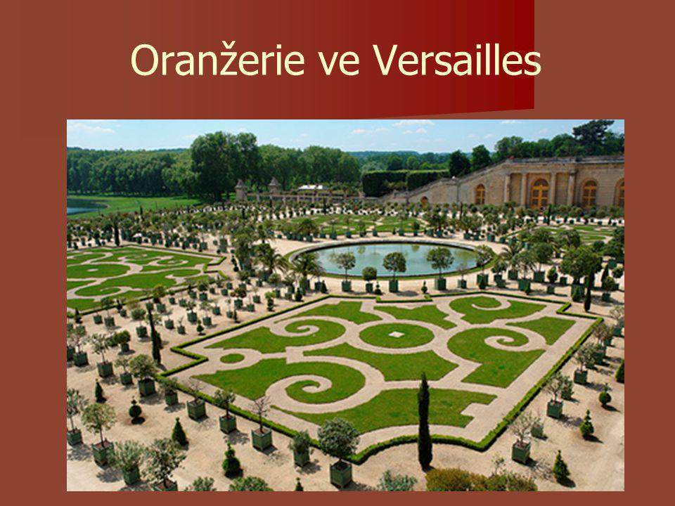 Oranžerie ve Versailles