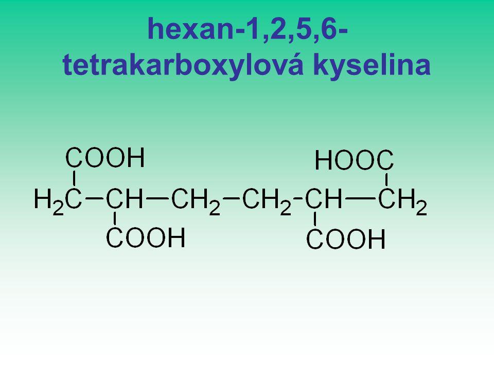 hexan-1,2,5,6- tetrakarboxylová kyselina