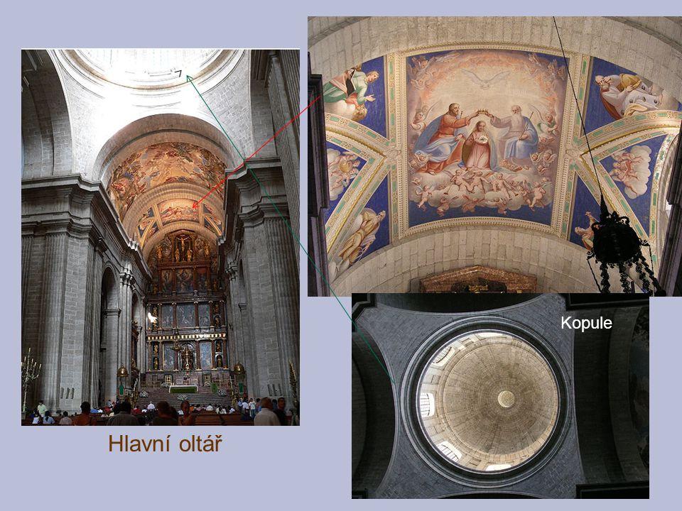Hlavní oltář Kopule
